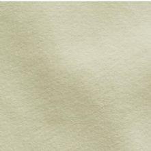 Alabaster Velour Suede Leather Half Skin